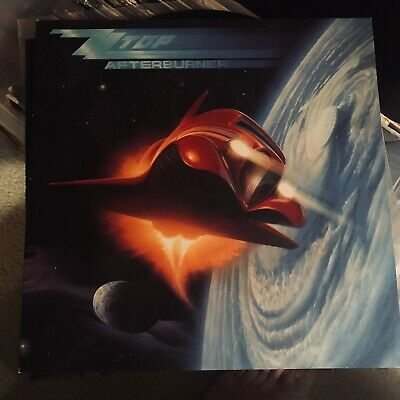 ZZ Top AFTERBURNER Vinyl LP Record Album 1985 Warner Bros SLEEPING BAG ROUGH BOY