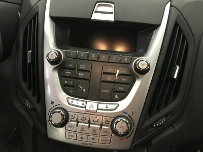 2012-2015 CHEVY EQUINOX Radio Face Climate Control Panel