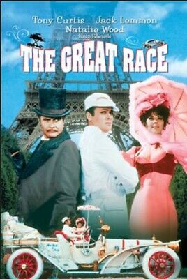 The Great Race (T.curtis, J.lemmon, N.wood) - Keepcase *New Dvd*