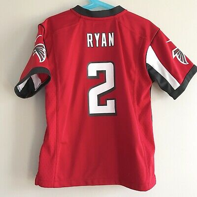 2a970b13d Atlanta Falcons Nike Matt Ryan red 2 jersey kids youth large 7 NFL Football