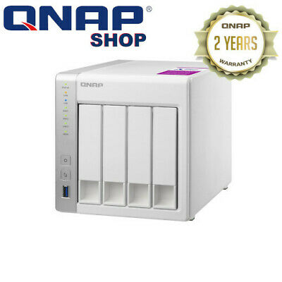 Qnap TS-431P2-1G 4-bay Personal Cloud NAS with DLNA, ARM Cortex A15 1.7GHz Quad