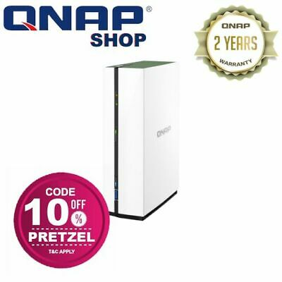 QNAP TS-128A 1 Bay Home & SOHO Diskless NAS 1.4GHz ARM Quad-core CPU 1GB RAM