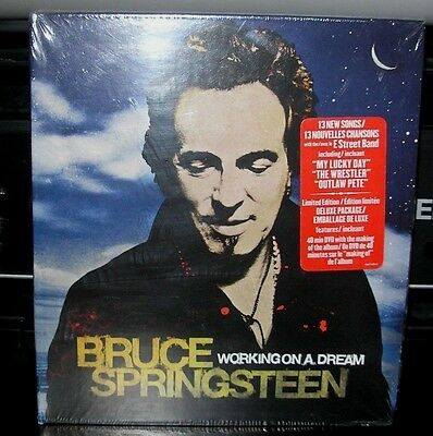 Bruce Springsteen Working On A Dream New Canada Cd & Dvd Digipak Limited Edition