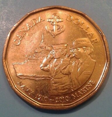 Canada 1 Dollar Commemorative coin 2010 (Royal Canadian Navy)