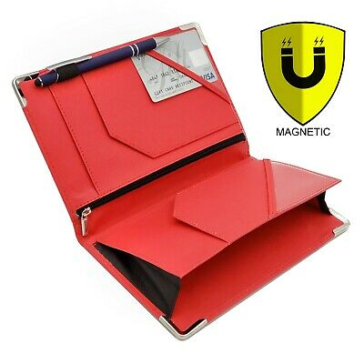 Classic Deluxe Server Book with Magnetic and Zipper Pocket, Holds Guest Check