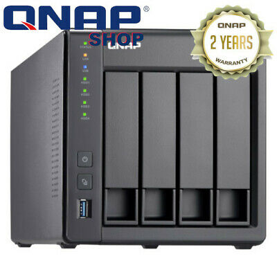 QNAP TS-431X2-2G 4 Bay Diskless NAS AL-314 Quad Core 1.7GHz CPU 2GB RAM