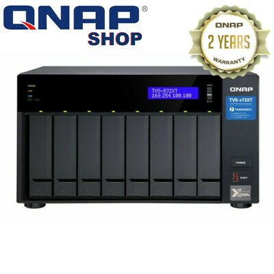 QNAP TS-1677X-1200-4G 16-BAY Diskless NAS AMD Ryzen™ 3 1200 CPU 4GB