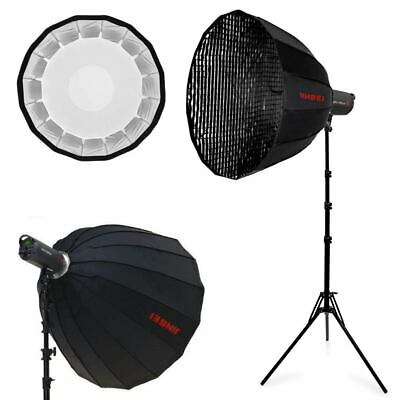 Jinbei EF-100II 5500K Studio LED light Lamp Bowens Mount With Stand Softbox Kit