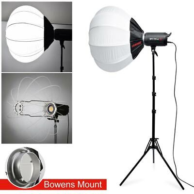Jinbei EF-100II Studio LED light Lamp Bowens Mount With Stand Folding Softbox