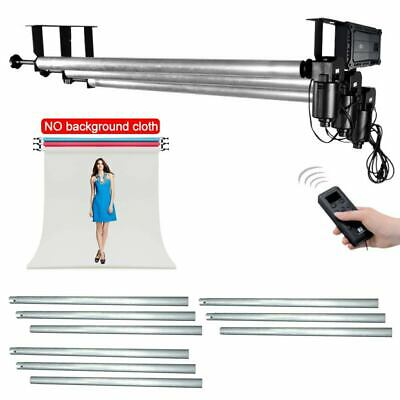 3 Roller Motorized Electric Background Backdrop Support System + 3X 3M Cross Bar