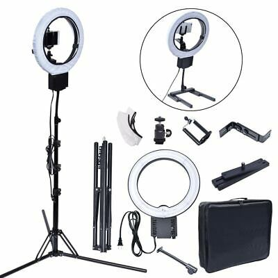 Studio 40W 5400K Diva Ring Light Lamp + 185cm Stand Bag Kit for Photo Video AU