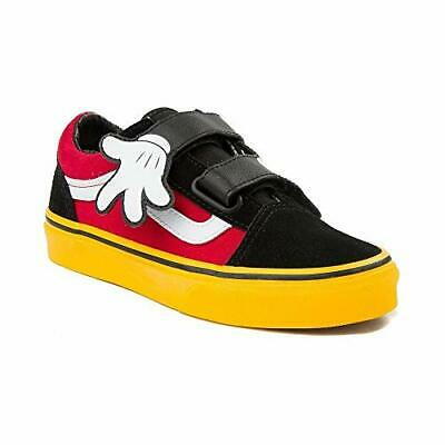 Vans x Disney Old Skool V MICKEY MOUSE HUG Noir Rouge Jaune