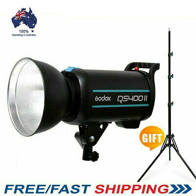 Godox QS400II 400W 400Ws 2.4G Wireless X System Flash Head Strobe Flash 220V KIT