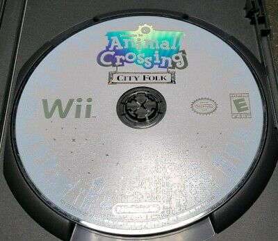 Welcome to Animal Crossing City Folk Nintendo Wii Rated E L-3