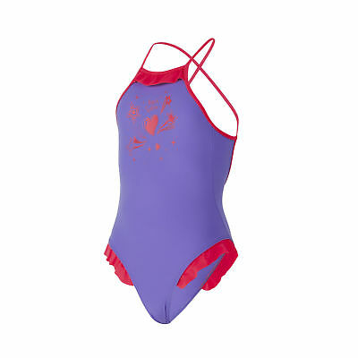 Aqua Sphere Girls Swimming Costume Childrens Swimsuit Age 6  Years LILOO LILAC