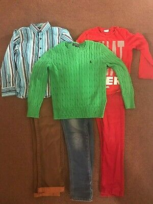 Quality Bundle Of Boys Clothes Age 8 - 6 Items