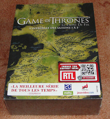 Coffret 15 DVD Game Of Thrones l'intégrale Neuf sous blister VF