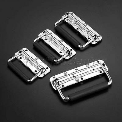 Spring Loaded Chest Handle Cupboard Door Pull Surface Mount Toolbox Drawer Grip