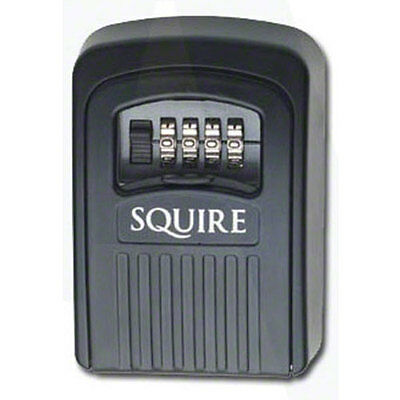 Squire Wall Mounted Durable Weather Resistant Key Safe with Combination Lock