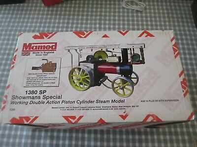 Mamod - 1380Sp Double Working Piston-Showmans- Boxed