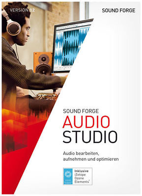 Sound Forge Audio Studio 12 Software DIGITAL KEY