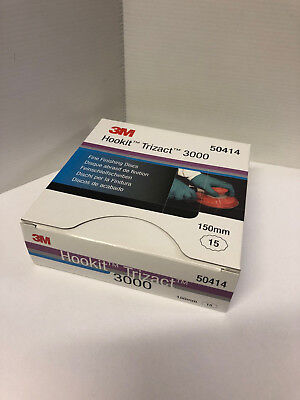 3M Trizact P3000 Part: 50414  1, 2 5, 10 or Box  BN Genuine 3M Product.Seller
