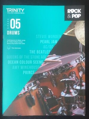 Trinity Rock & Pop Exams: Drums Grade 5 by Trinity College London  #D