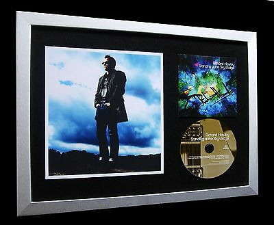 Richard Hawley+Signed+Framed+Standing Sky's Edge=100% Genuine+Fast Global Ship