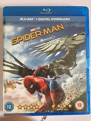 Spider-Man Homecoming Blu Ray
