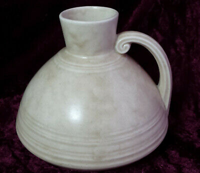 Crown Ducal Pottery Art Deco Jug / Vase with Handle