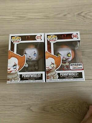 lot funko pop it amazon exclusive pennywise