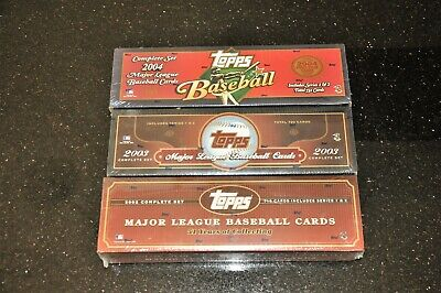 2003 2004 Topps Baseball Factory Sealed Unopened Complete
