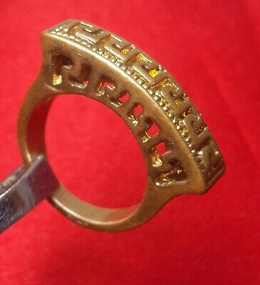 Antiques Extremely Rare Ancient Ring Viking Bronze Museum Quality Artifact Stunning