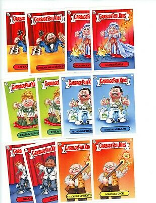 2019 Topps GPK NOT-SCARS Complete A & B Set 12 Cards Garbage Pail Kids