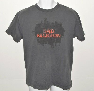 Bad Religion Concert Tour T-shirt Size Medium 2007 New Maps of Hell Punk Rock