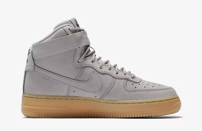 Nike Air Force 1 High WB GS UK 5 EUR 38 New Medium Grey/Black/ 922066 002