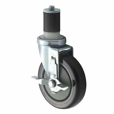 Winco CT-1B Brake Caster for 1-5/8-Inch or 1.5-Inch Tubing