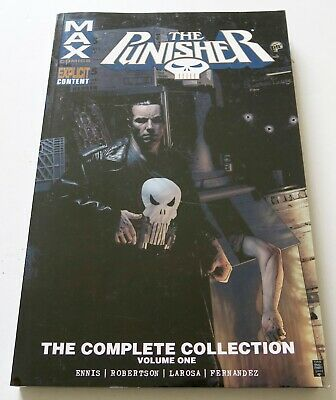 Punisher The Complete Collection Vol. 1 Max Graphic Novel Comic Book