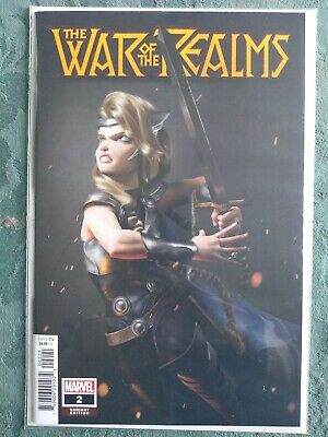 War of the Realms #2 1:25 Hugo Variant NM