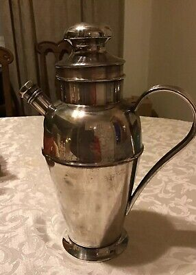 Vintage Bernard Rice Sons Apollo EPC Silverplated Cocktail Shaker