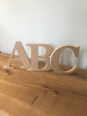 GEORGIA FONT MDF letters-Home-Kids-decoration-Craft-Wooden