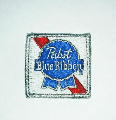 Vintage Pabst Blue Ribbon Beer PBR Embroidered Patch - Never Used