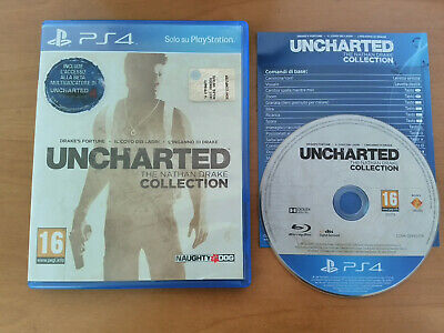 Uncharted collection PS4 PlayStation 4 come nuovo Italiano spedizione veloce