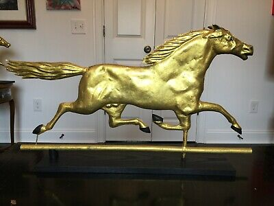 Antique Mounted Weathervane Horse