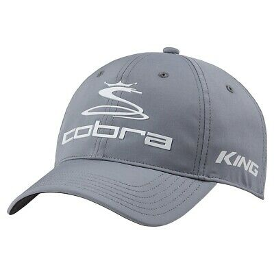 New Cobra Golf Pro Tour Hat Fitted Quarry Gray - Pick a Size