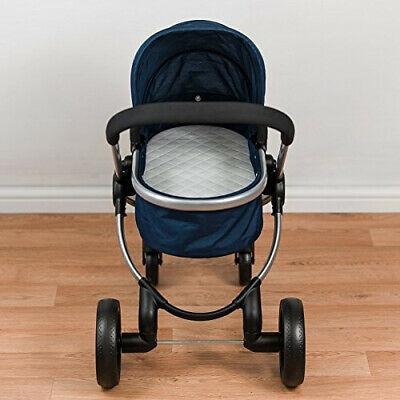 Baby Birds iCandy MiPeach Dolls Pram Carry Cot Mattress with Quilted Cover: