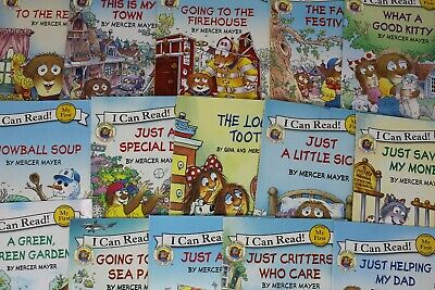 Little Critter I Can Read - Lot of 10 Books - Unsorted/Random Pick!
