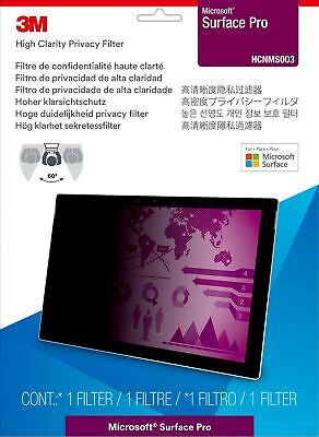 New  3M High Clarity Privacy Filter For Microsoft® Surface® Laptop HCNMS002