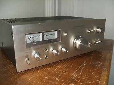 Kenwood KA-5500 Integrated Amplifier Classic 1970's Solid State Silver Face AMP