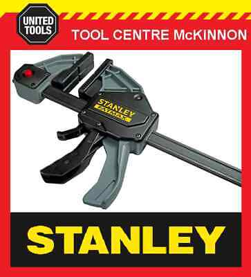 STANLEY FATMAX QUICK-GRIP STYLE XL 300mm ONE HANDED BAR CLAMP – 270kg CAPACITY